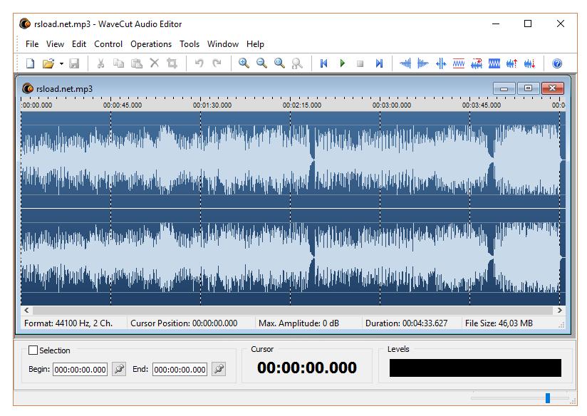 WaveCut.Audio.Editor1